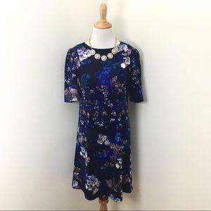 Betsey Johnson Flora Watercolor Dress